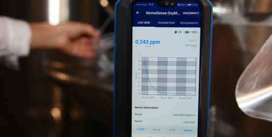 Wine Quality Solutions lance le NomaSense™ Oxymeter