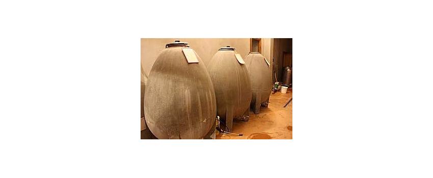 Avantages et inconvénients de la vinification dans les oeufs en béton