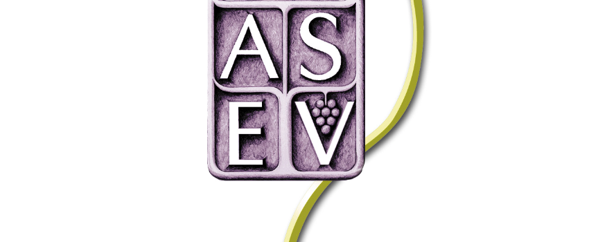 The ASEV awards student prizes in Napa, California