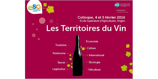 Les Territoires du Vin, colloque interdisciplinaire