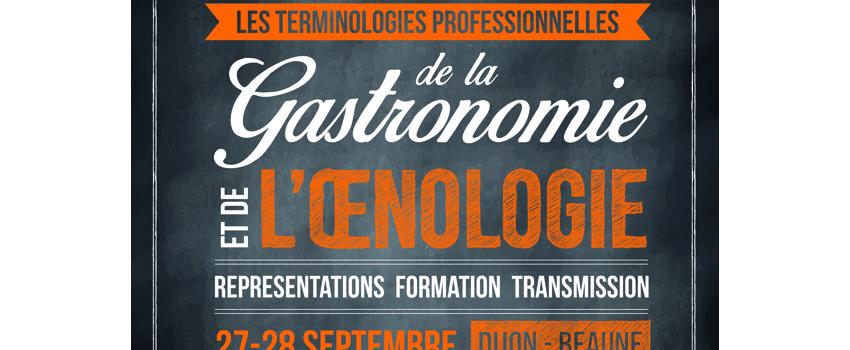 Les terminologies professionnelles de la gastronomie et de l'œnologie : représentations, formation, transmission