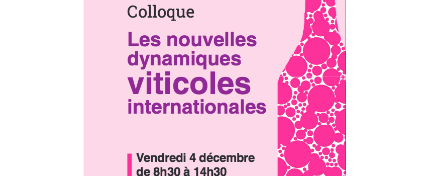 Les nouvelles dynamiques viticoles internationales